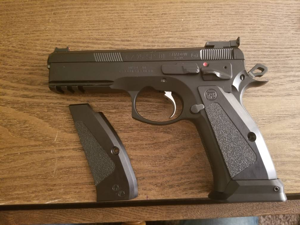 CZ75 SP-01 Magwell