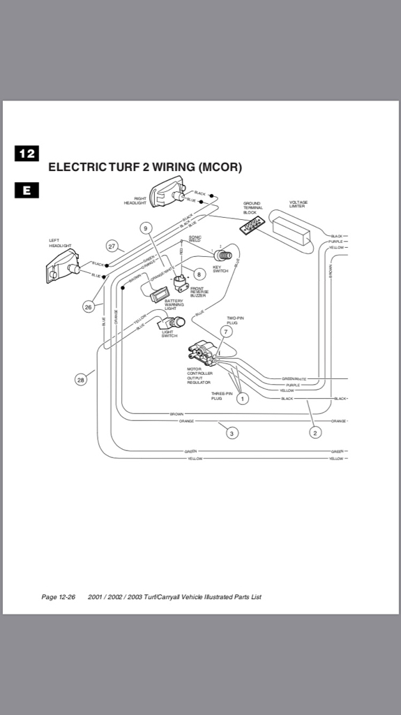 Carryall 2 Wiring Diagram