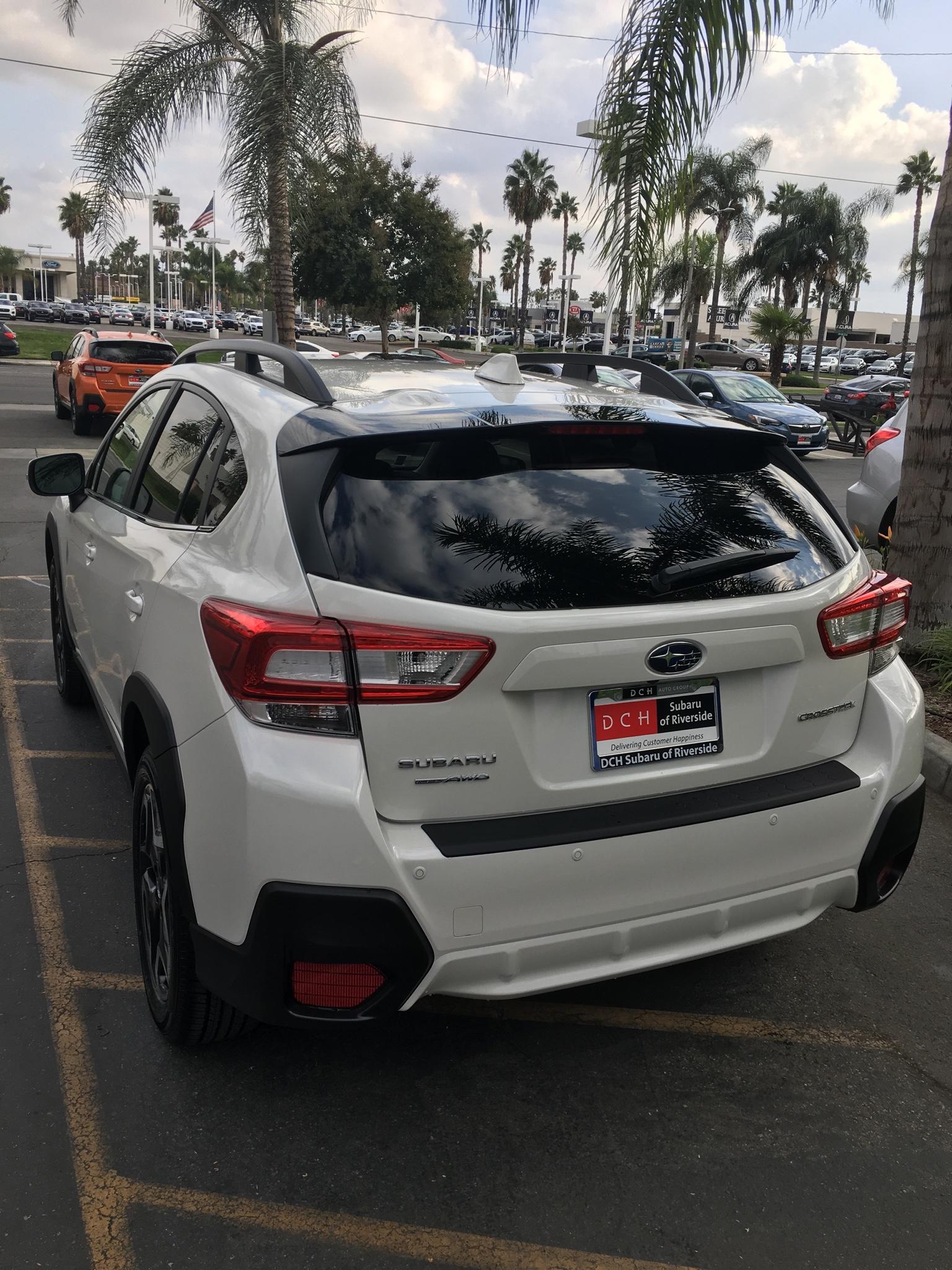 2019 Crosstrek Ltd White Club Crosstrek Subaru Xv