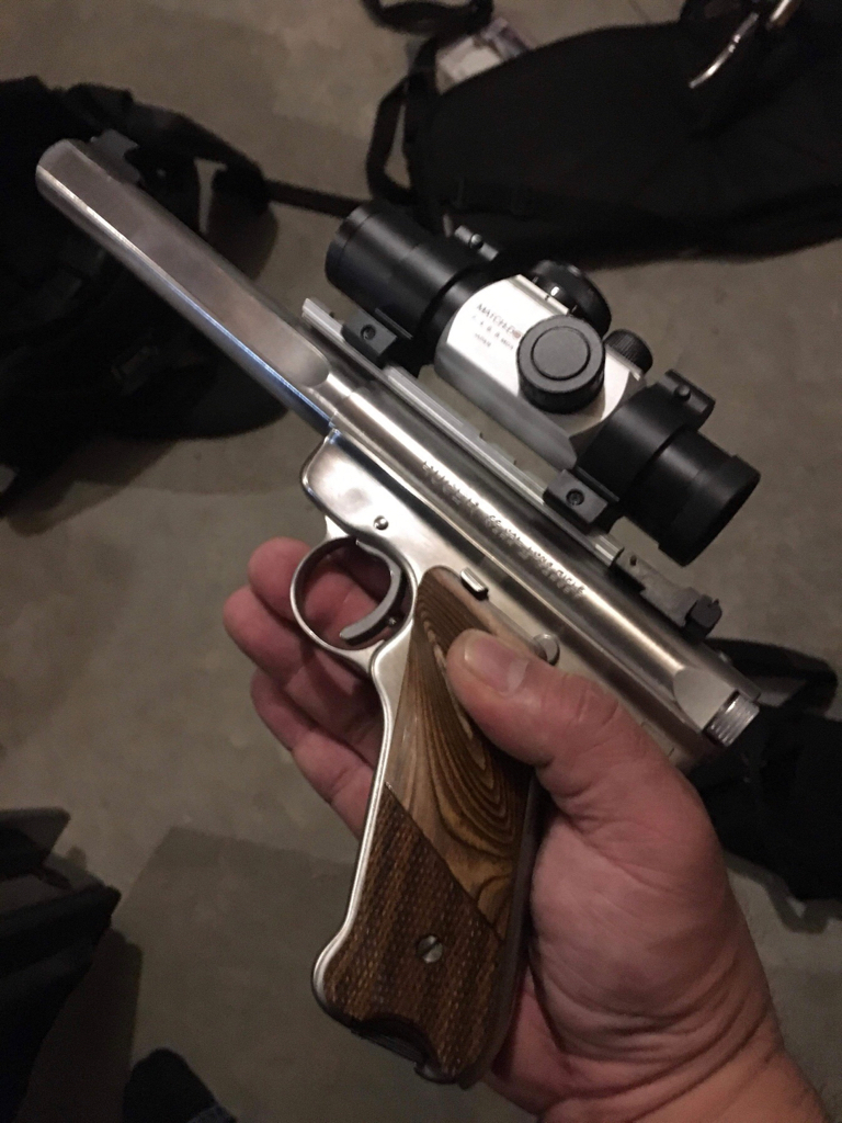 T&J Tactical Ruger Mark IV SS Target with integrated suppressor