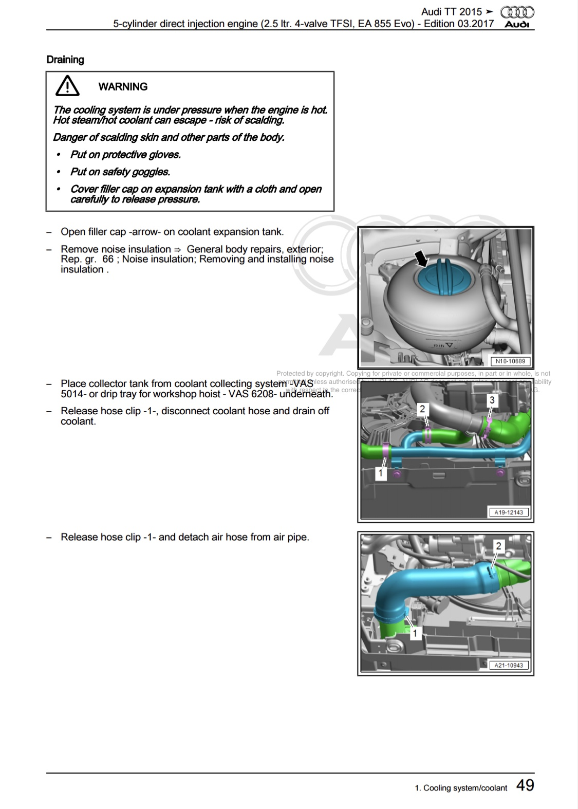Engine Coolant Warning General Cooling Diagram Img