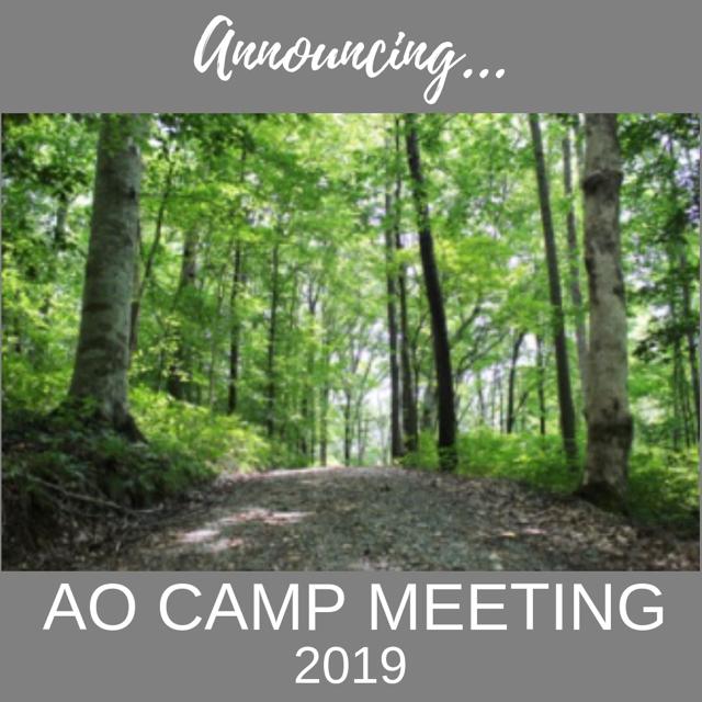 AmblesideOnline Forums - #AOCM2019 AmblesideOnline's Camp