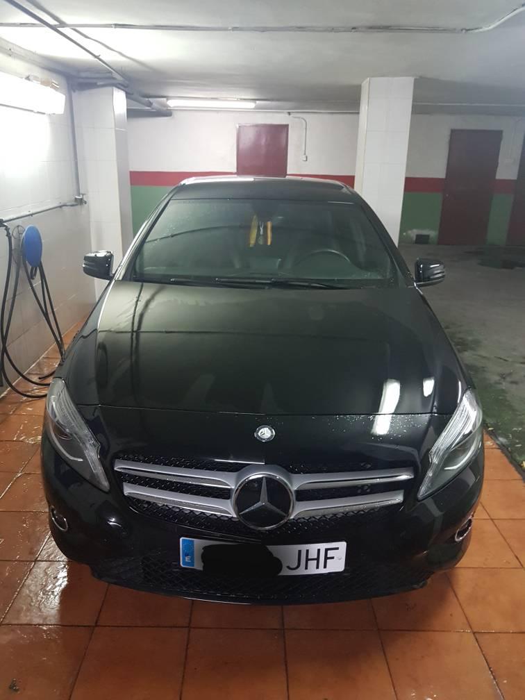 Vendo De 10 000 A 20 000 Mercedes Benz A180 Cdi Urban Negro A 209 O 2015 52 000 Km 18 900