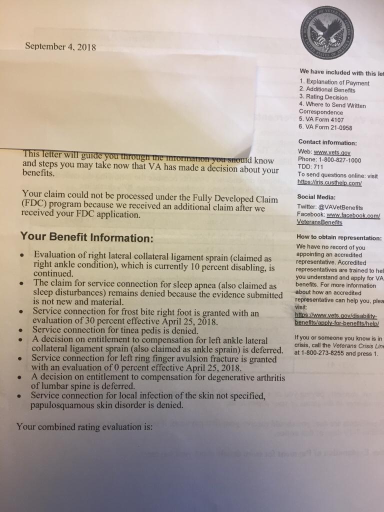 Denied Service Connection - Veterans Benefits Network