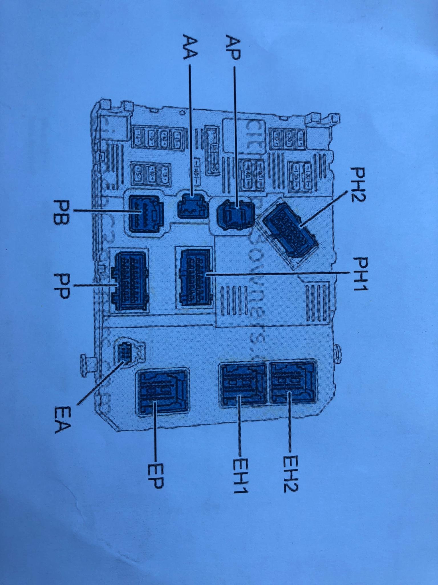 Berlingo B9 Wiring Diagram