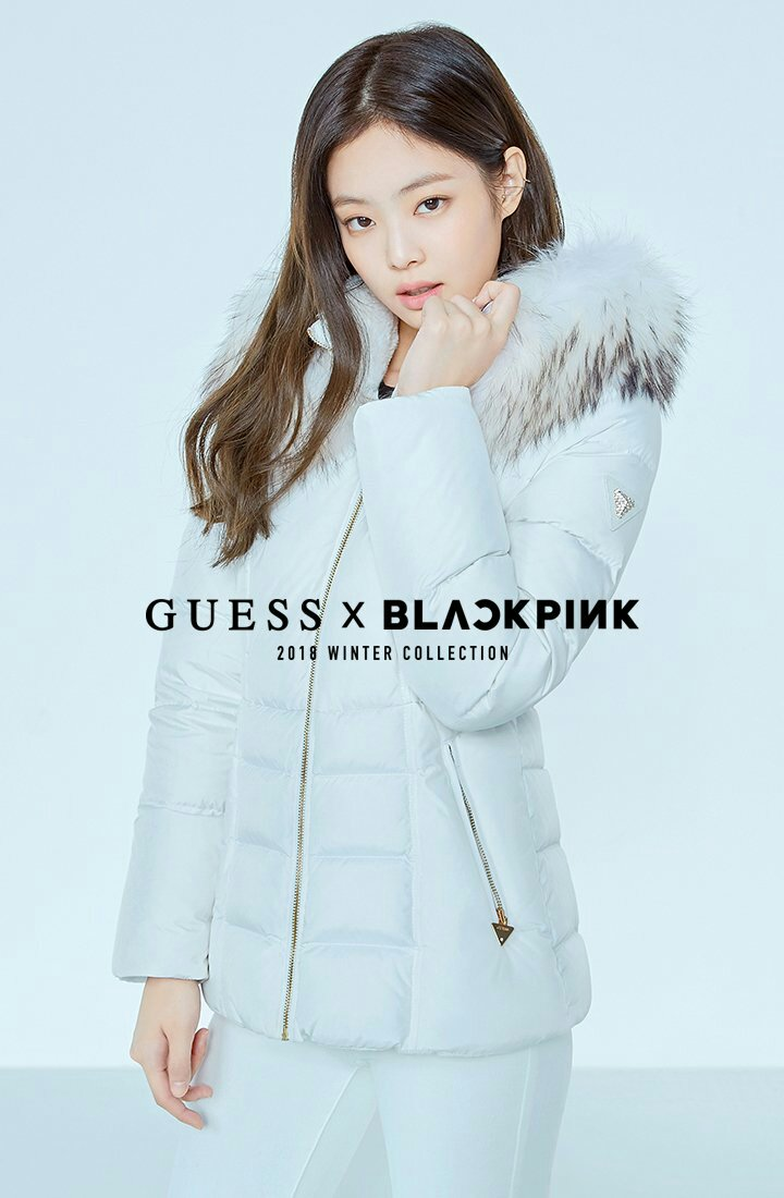 Cf Blackpink X Guess 2018 Winter Collection Celebrity Photos