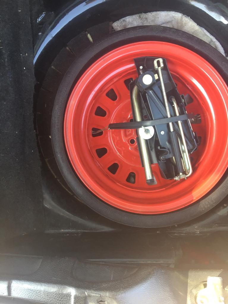 Vwvortex Com Corrado To Porsche Folding Spare Tire Project