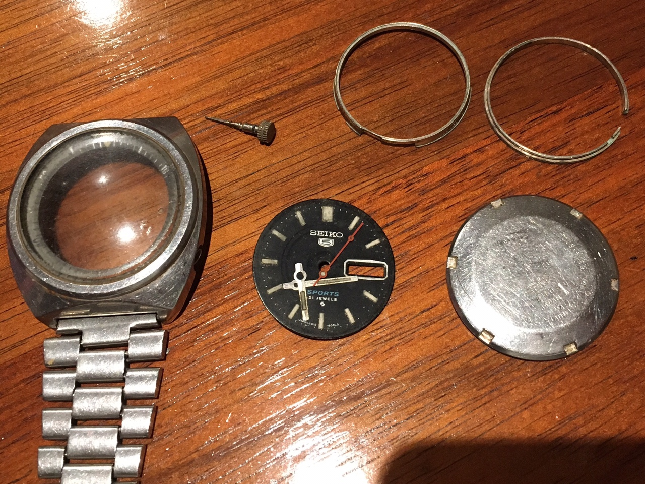 Sell out: Seiko parts  $30 plus post   Wrist Sushi - A