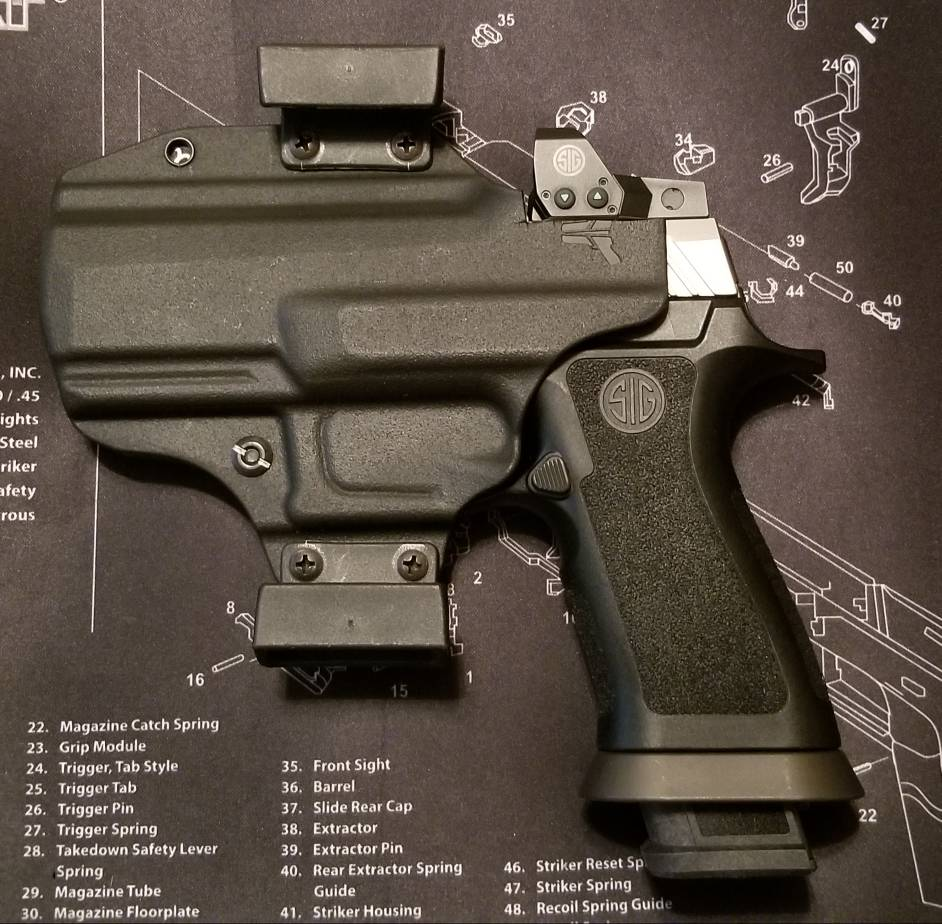 NC - [SOLD] Sig P320 RX Special Edition Slide With X Grip