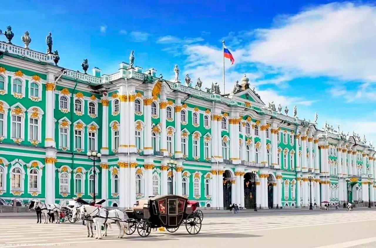 здание зимнего дворца