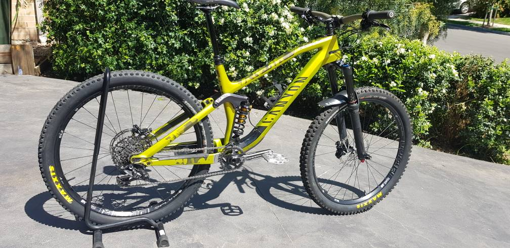 NSW - SOLD - 2017 Canyon Spectral 8 0 CF EX | Rotorburn