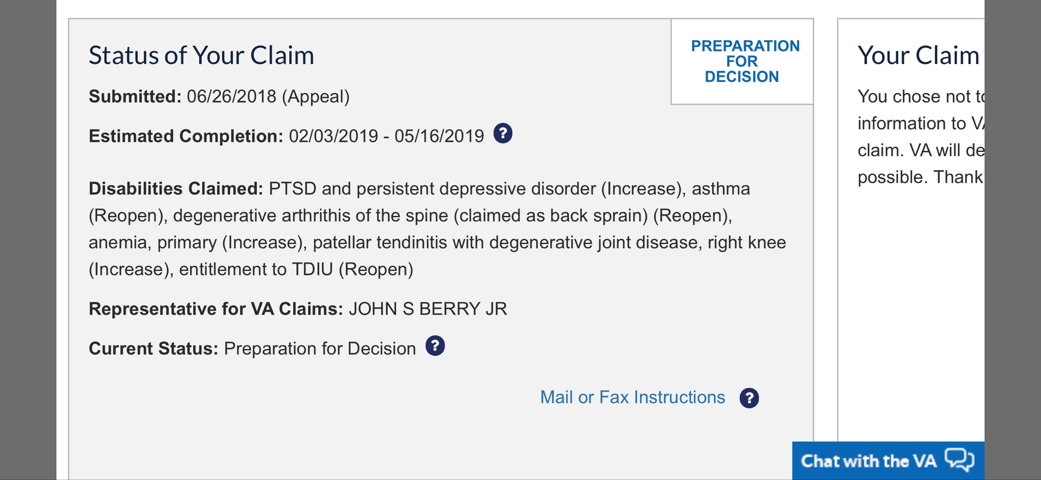 How Long Does A Va Appeal Take 2018