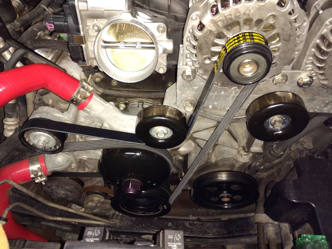 Bypass the Power Steering Pump at the track - Chevy Trailblazer SS Forum