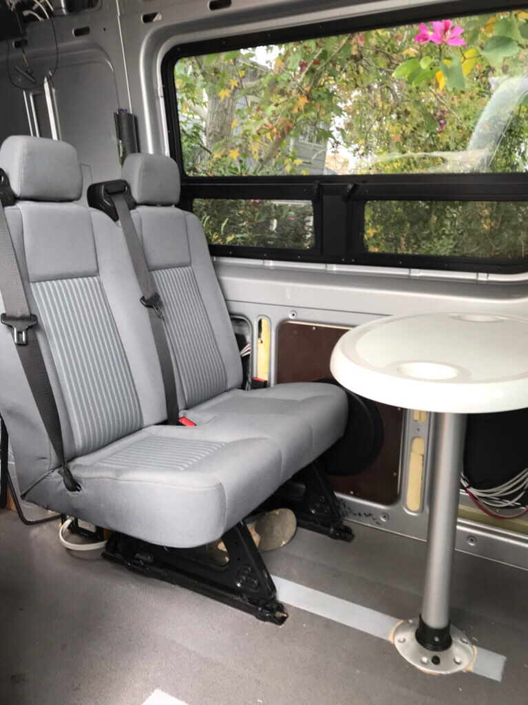 Two Person Bench Seat For The Back Of The Van Sprinter Forum