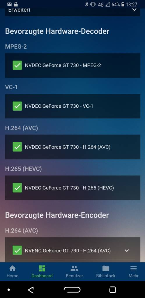 3 6 0 58 - hardware acceleration settings - Page 5 - Emby