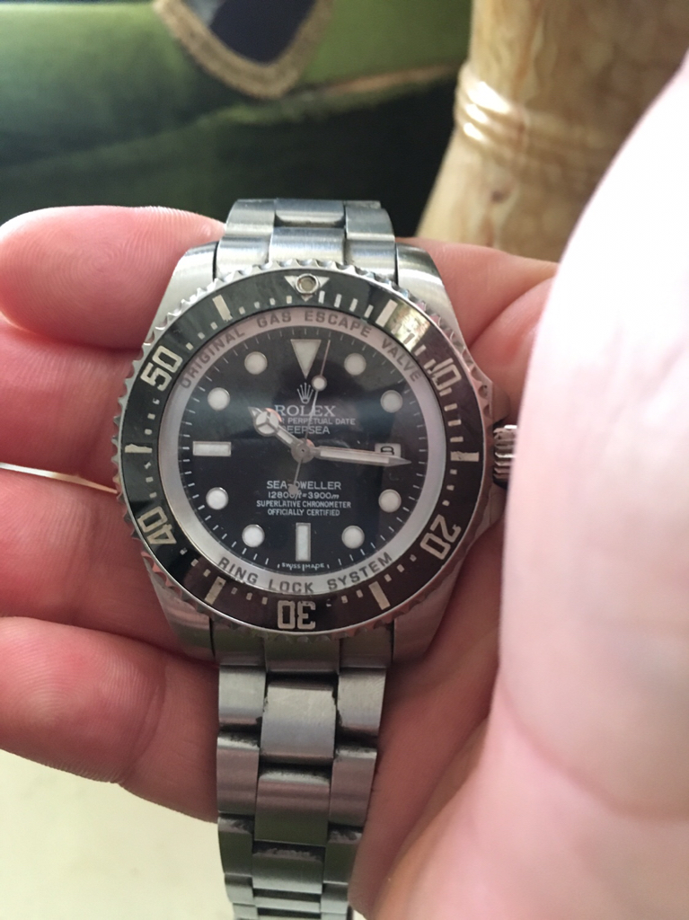 Rolex deep sea dweller - Ρολόγια Replica