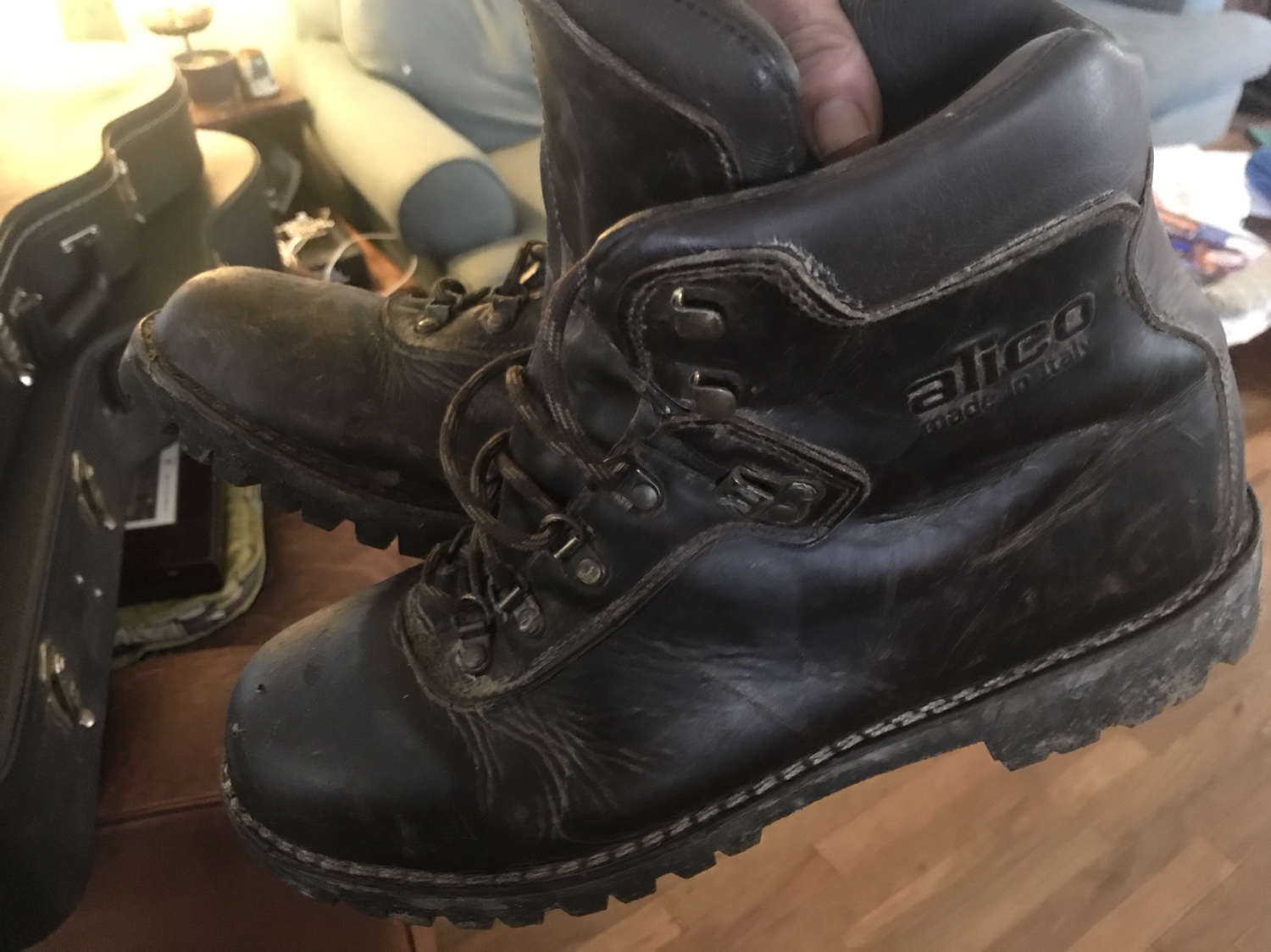 a22b3950033 Boots. Old school. Leather. Sno-Seal.   Rokslide Forum
