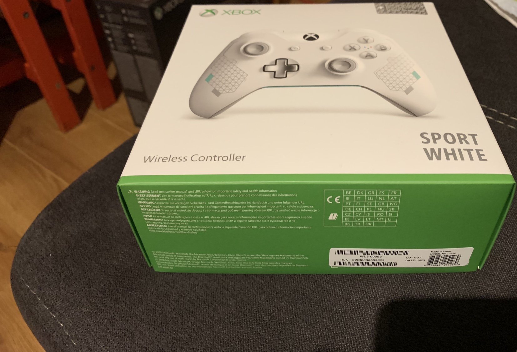Citaten Weergeven Xbox One : Xbox one hardware xbox one controller sport white nieuw en ongebruikt.