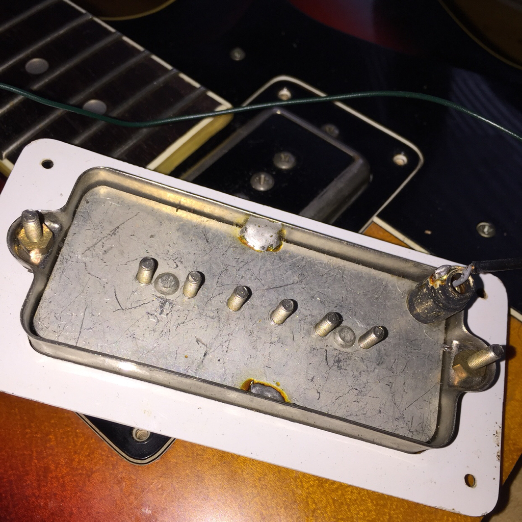 Ngd Refurbished Old Framus Guitar Wiring Diagram And The Classic Stick Your Phone In There Shot