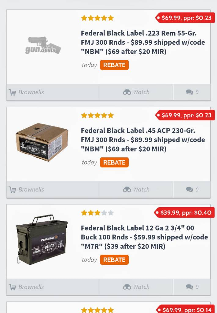Black Friday 2018 - Firearm deals & Accessories - Page 8