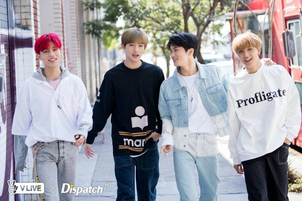Photoshoot] NCT 127 in Downtown LA - VLIVE x DISPATCH - Celebrity