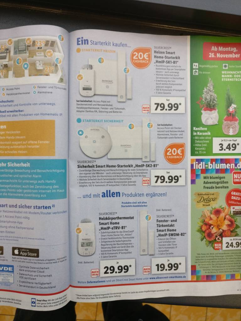 Ab 26 11 Homematic Bei Lidl