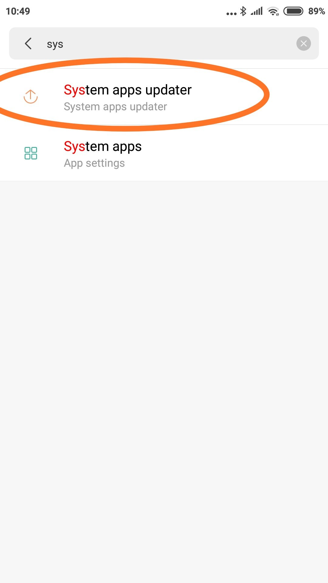 Resolved - [Mi6][8 11 15] System app updater appears in