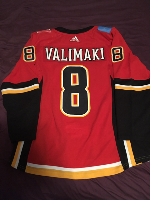 c3f1e8400 ... 50% off black friday sale adidas flames retro jersey cutomized 169.99  hockeyauthentic calgarypuck forums the