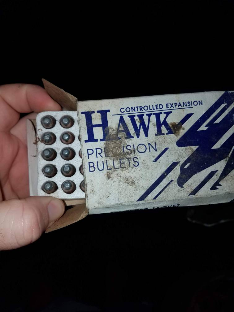 224 53gr sierra game king and  358 hawk precision bullets