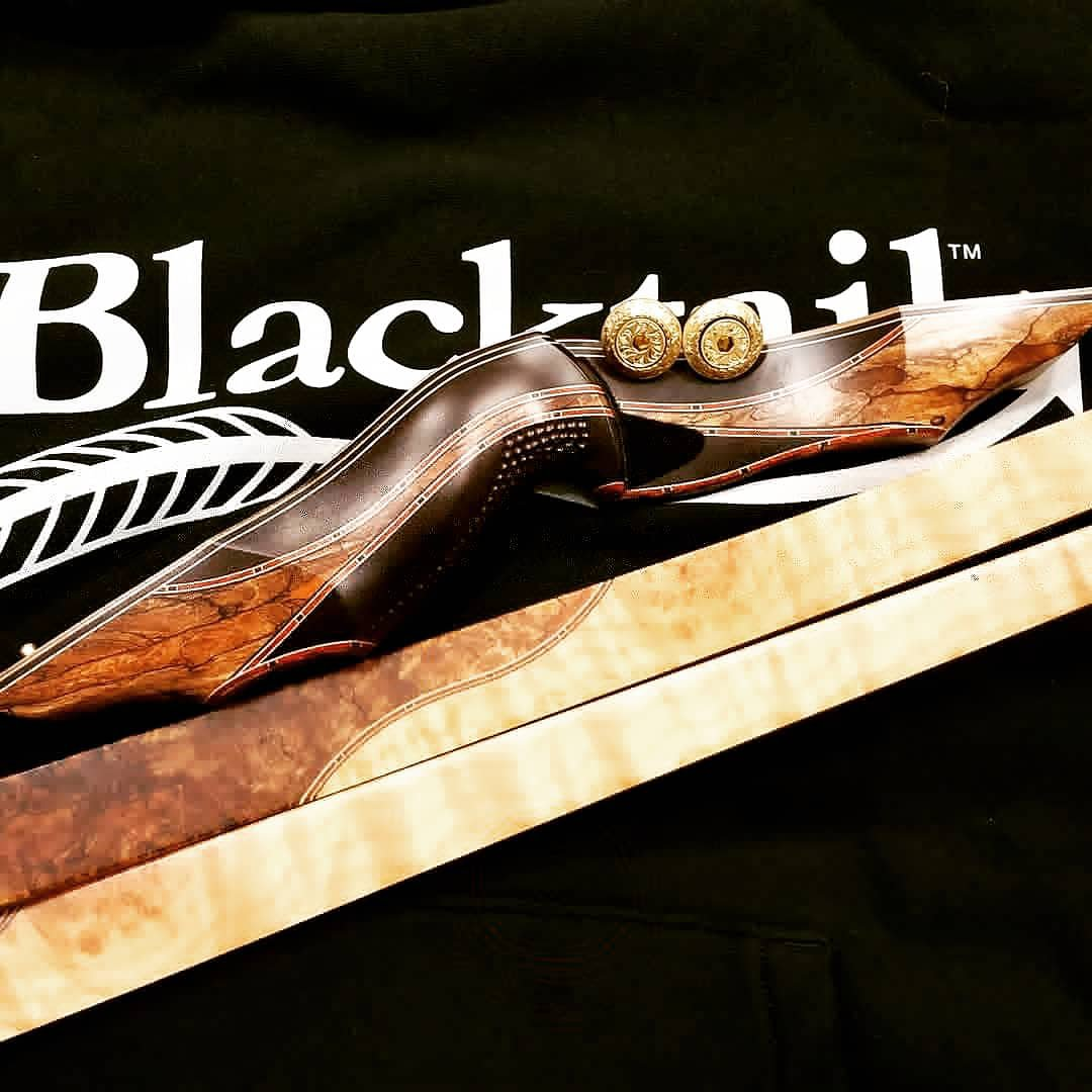 New bow arrival- Blacktail Columbian Longbow