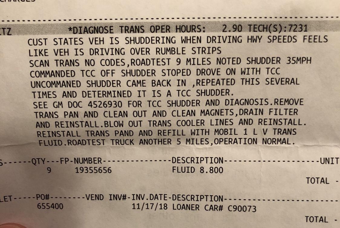The dreaded 8 speed shudder - Page 2 - ZR2zone com