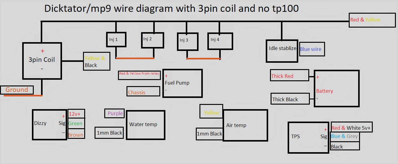 tp100 wiring diagram