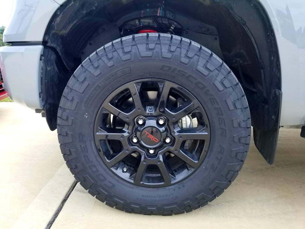 Tundra Trd Pro >> Is it worth the money to replace the Michelin AT2's ...