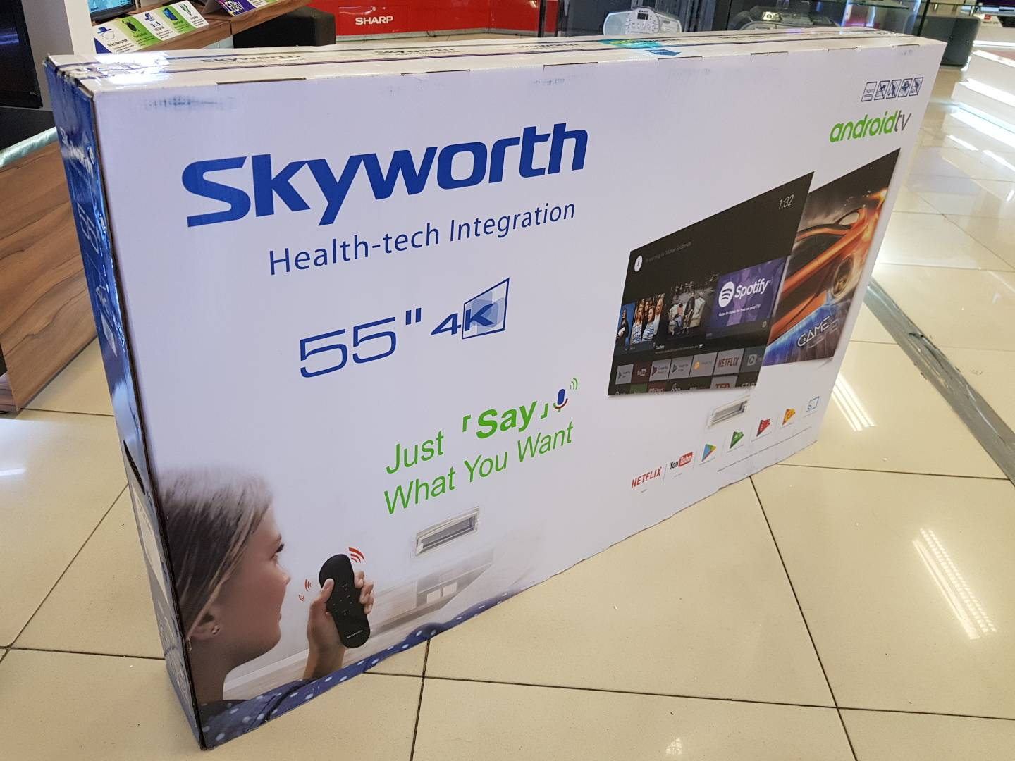 Skyworth 55G6 beiing offered by SM Appliances as 30th