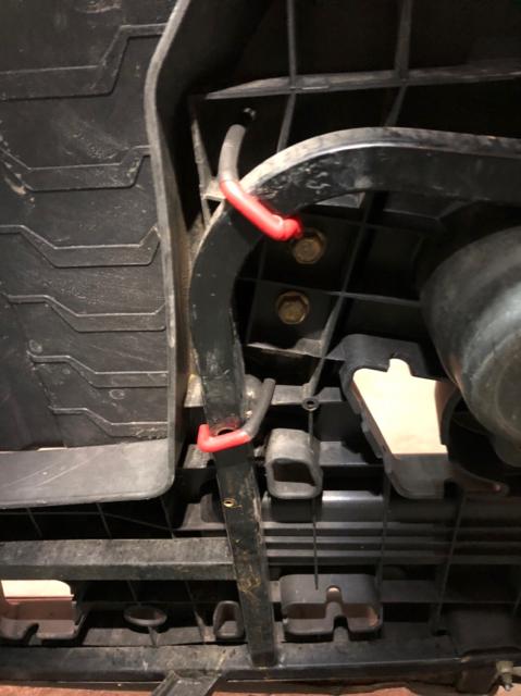 Touring Backrest Removal