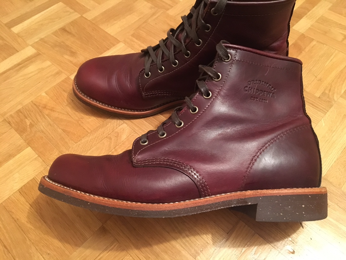 For Sale Chippewa 1901m25 Cordovan Boots The Fedora Lounge