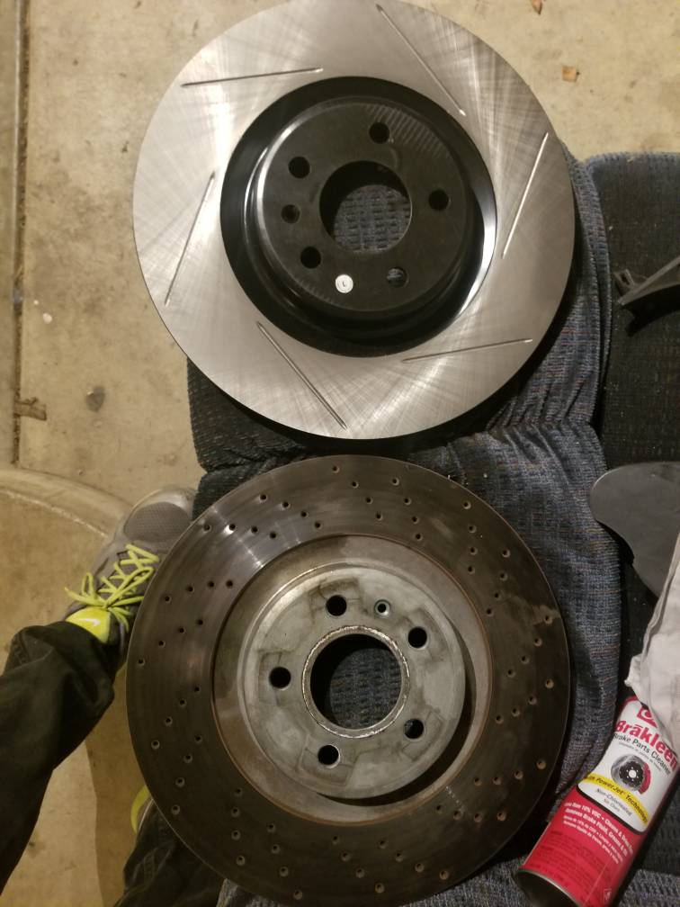 I've got the pads, but now I need rotors