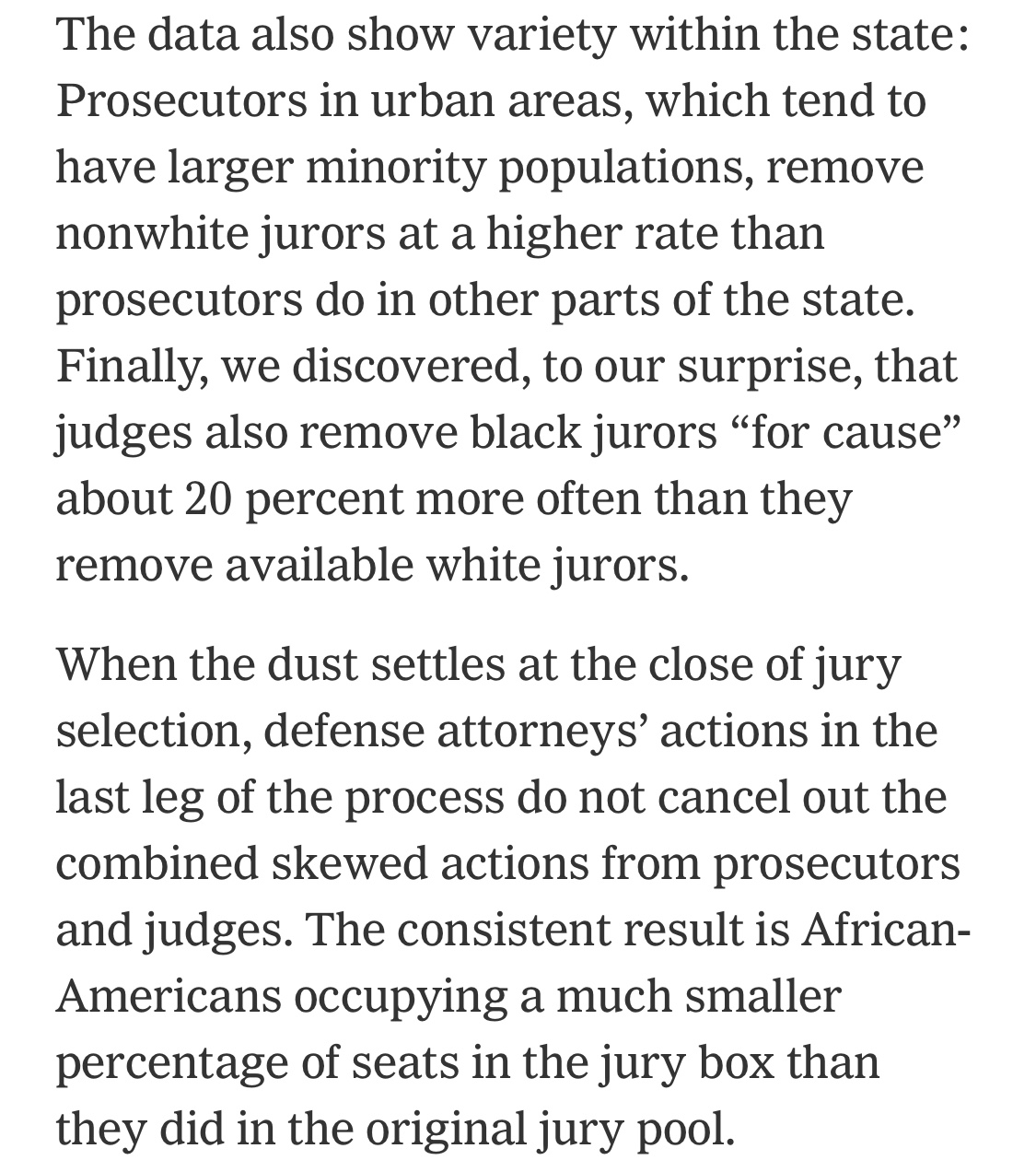 Yes, Jury Selection Is as Racist as You Think  Now We Have