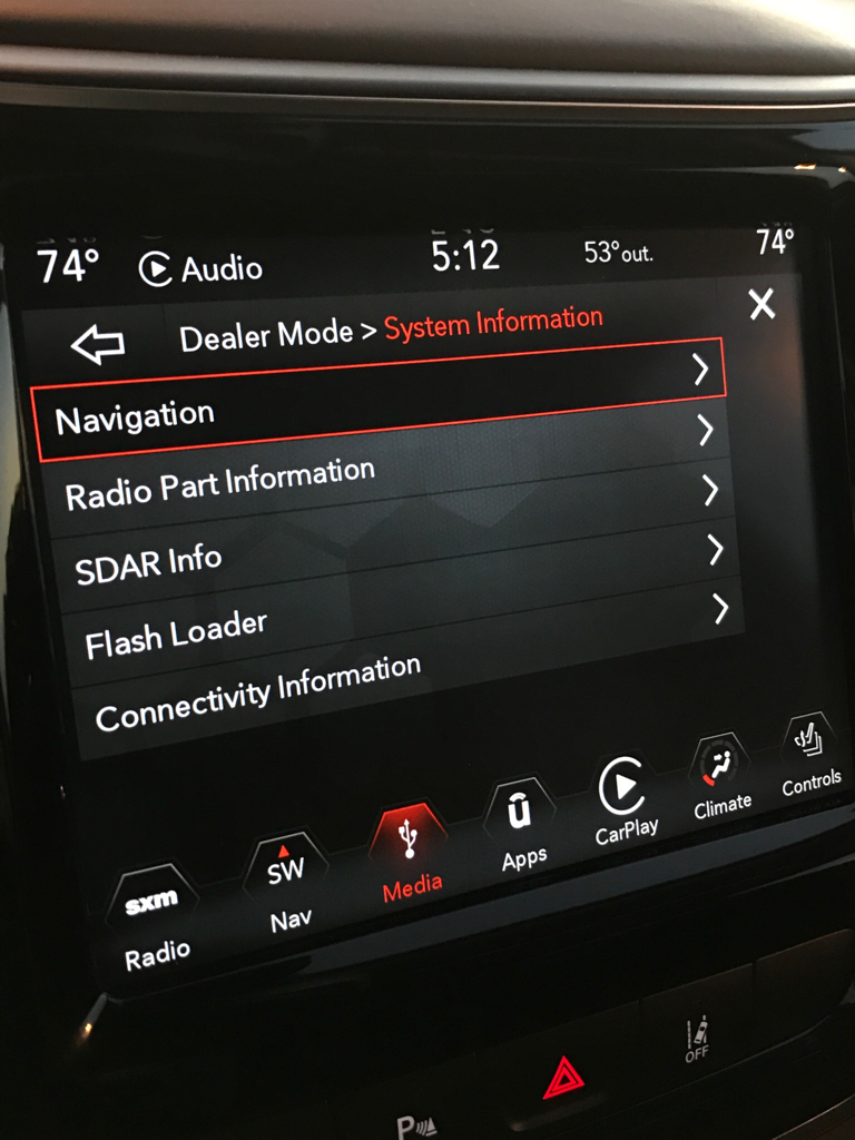 2019 Uconnect Dealer Mode - 2014+ Jeep Cherokee Forums
