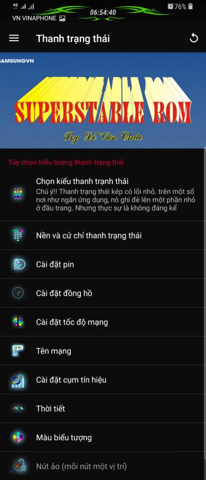 ROM] SuperStable VP4 0 (16/05/2019) GalaxyNote8 and S8/S8+