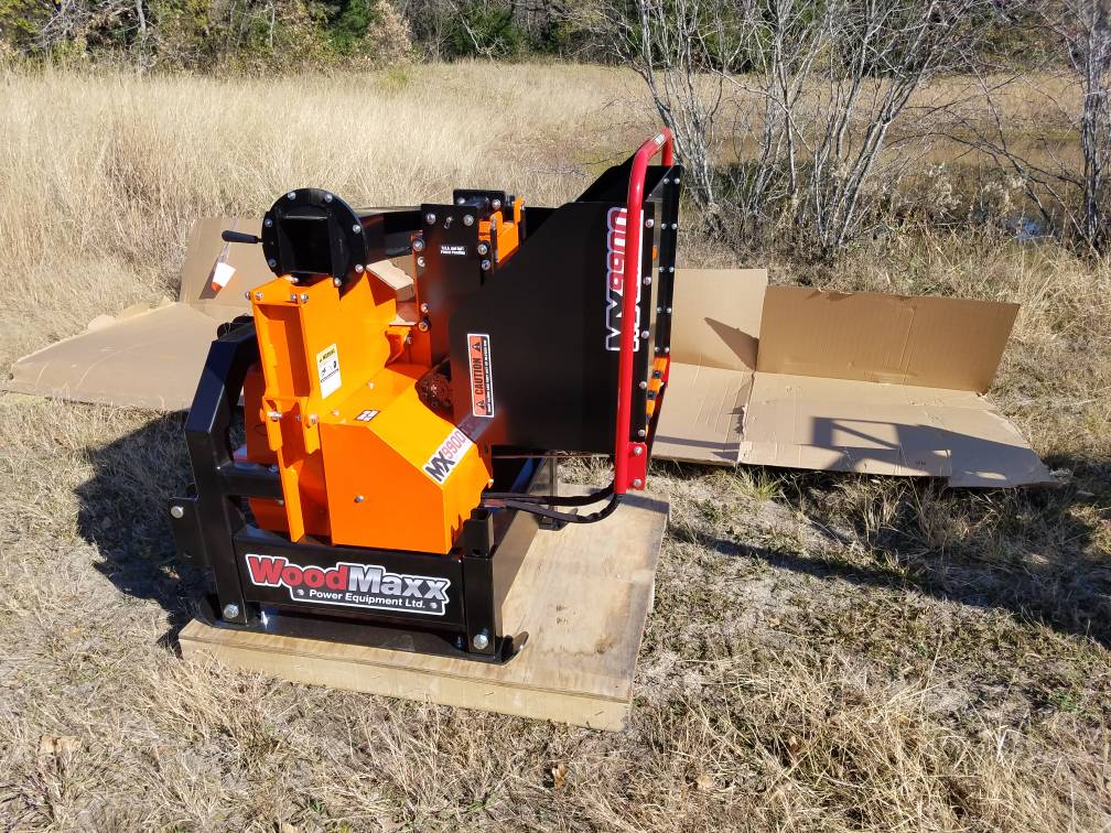 Woodmaxx chippers - OrangeTractorTalks - Everything Kubota
