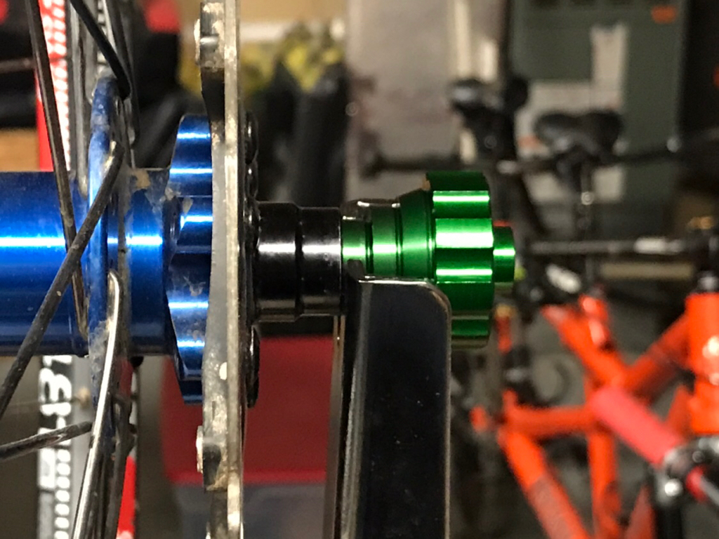 20mm Park Tool TS-TA Thru Axle Adaptors for adpating your truing stand 12 15