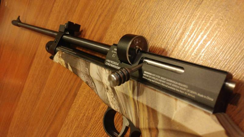 Diana Chaser first impression ~ | Canadian Airgun Forum