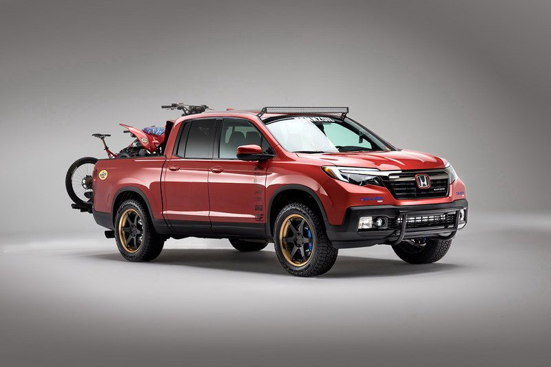 Honda Ridgeline Off Road >> What Do You Think Of This Off Road Appearance Package