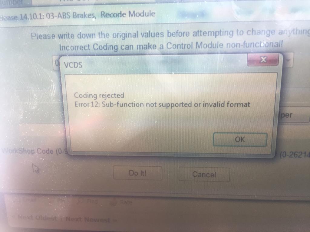 Audi A3 esp MK60EC1 long coding