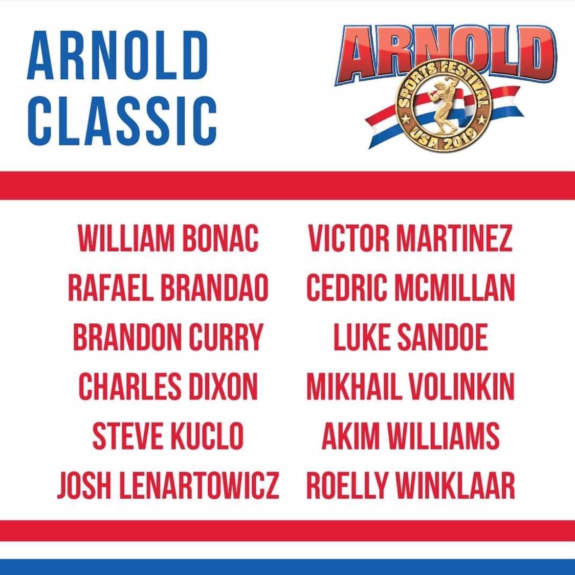 2019 Arnold Classic USA!! 731fae5e590dc577e339377125da3c94