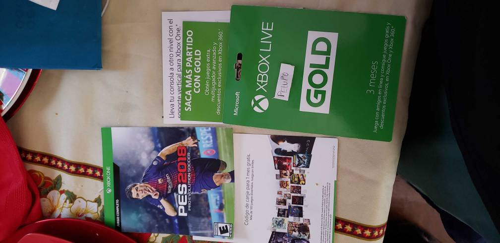 Xbox One Codigos Varios Game Pass Gold Pes