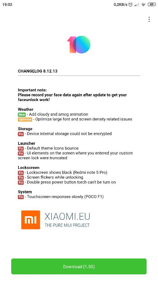 MIUI 10 2 - 8 12 13 | Xiaomi European Community