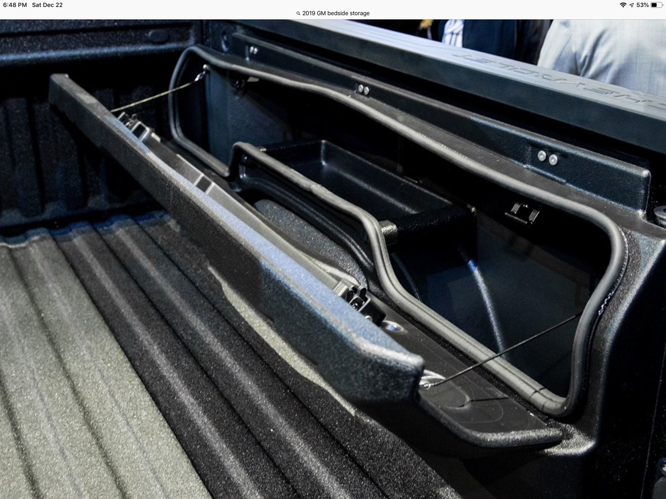 Side mounted bed storage - 2019/2020 Chevy Silverado & GMC Sierra - GM-Trucks.com