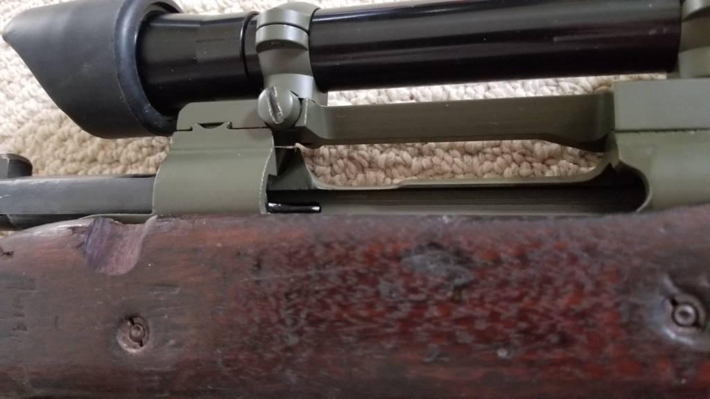 Mounting a M84 scope on a 1903A3   Carolina Shooters Club